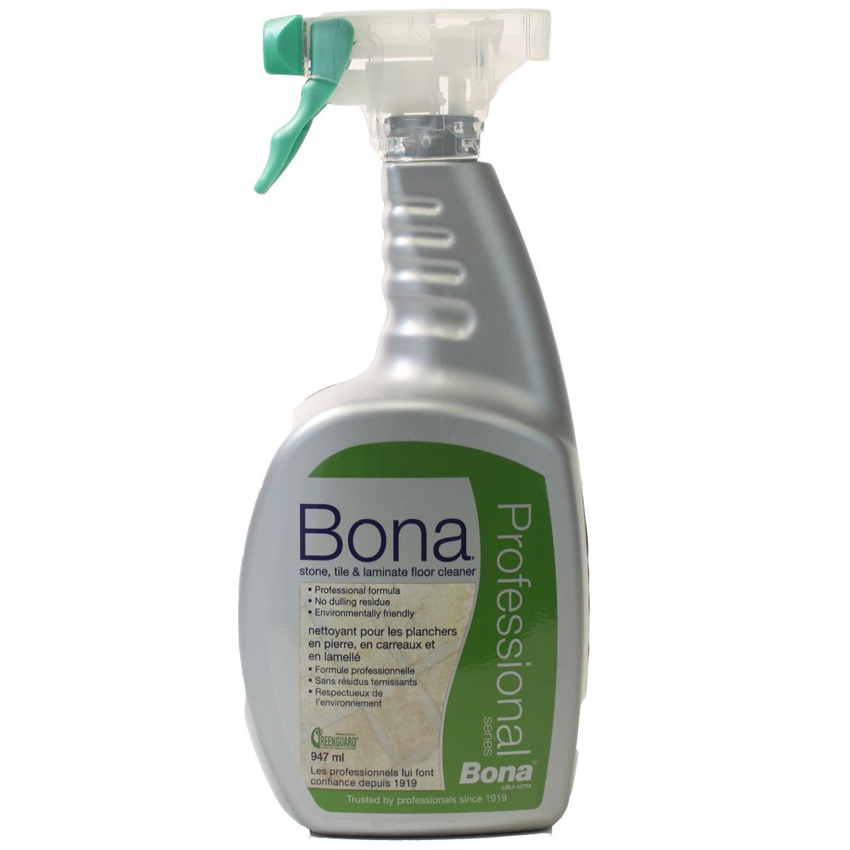 Bona Bona Stone Tile and Laminate Floor Cleaner Pro Series Spray 32oz Cleaning Products  - Vacuum Plus Canada