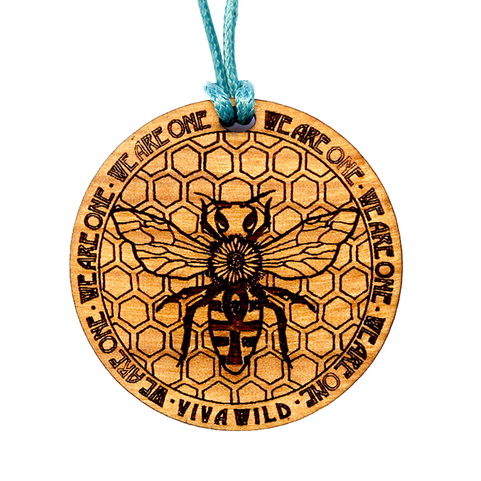 Honey Bee Power Pendant