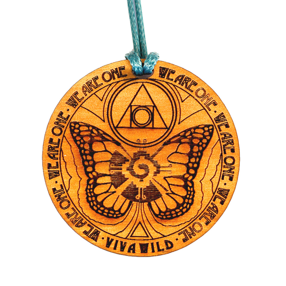 Galactic Butterfly Power Pendant