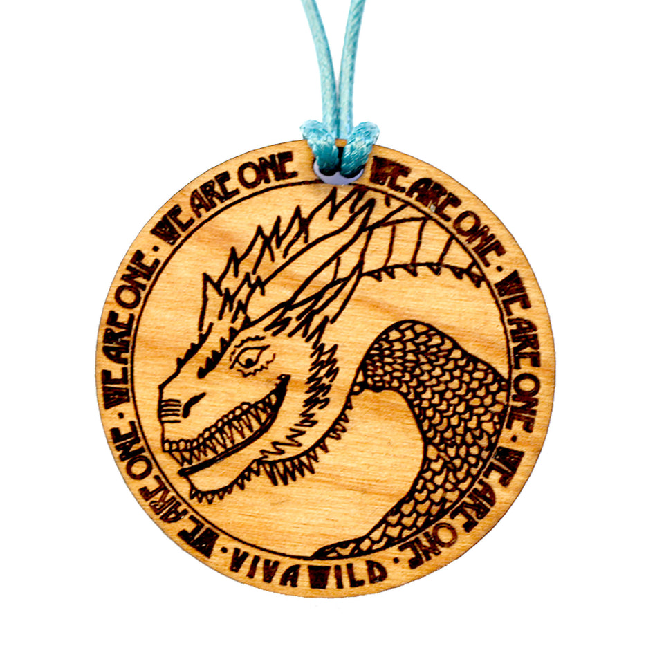 Primordial Dragon Power Pendant