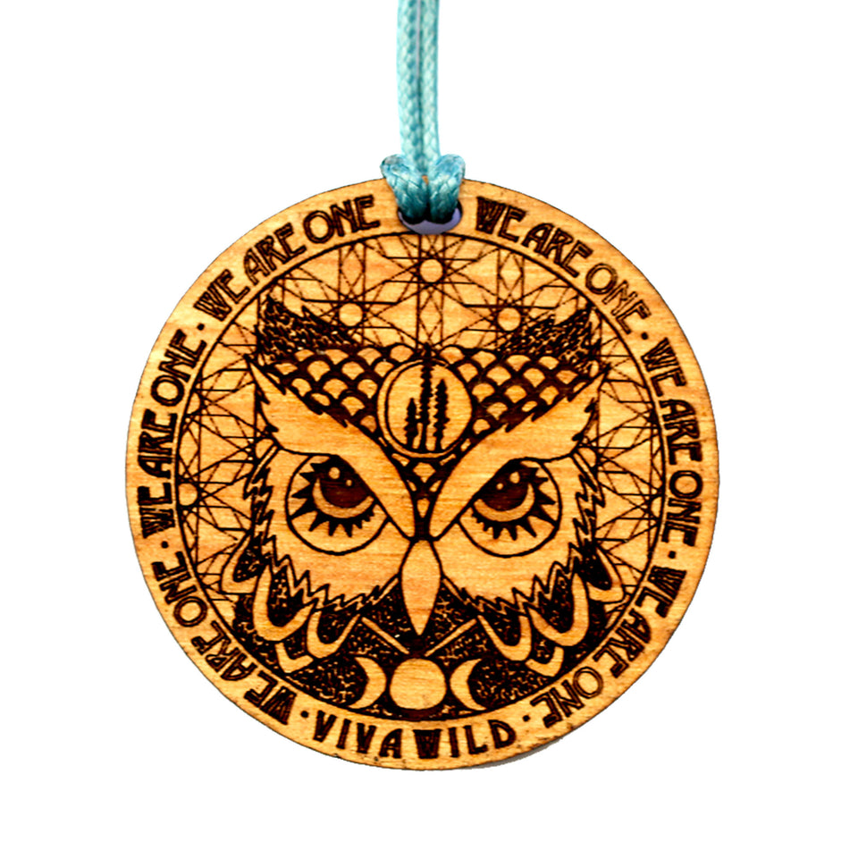 Owl Power Pendant