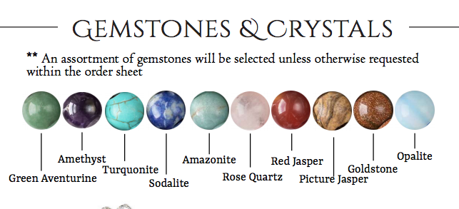 Healing Gemstones - Wholesale