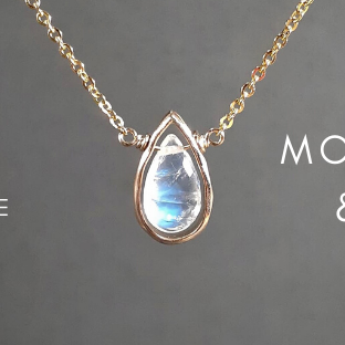 June Birthstone - Pearl & Moonstone