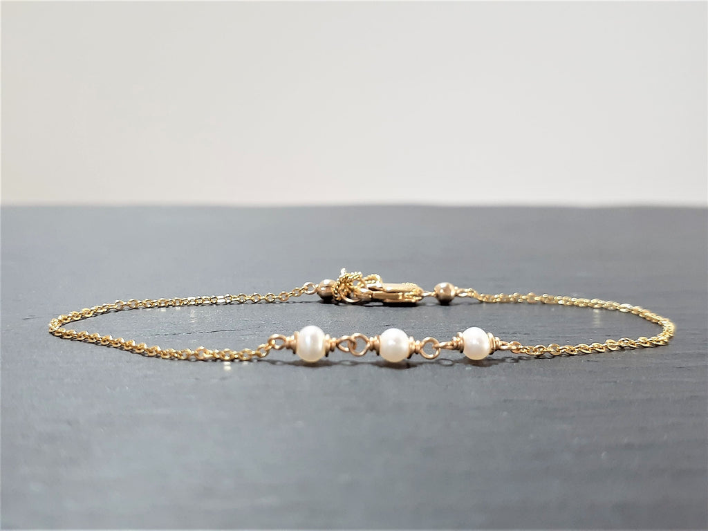 Freshwater Pearl Anklet