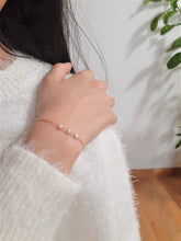 Load image into Gallery viewer, Dainty Freshwater Pearl Bracelet - Handmade in 14k Gold Filled (Image 2)
