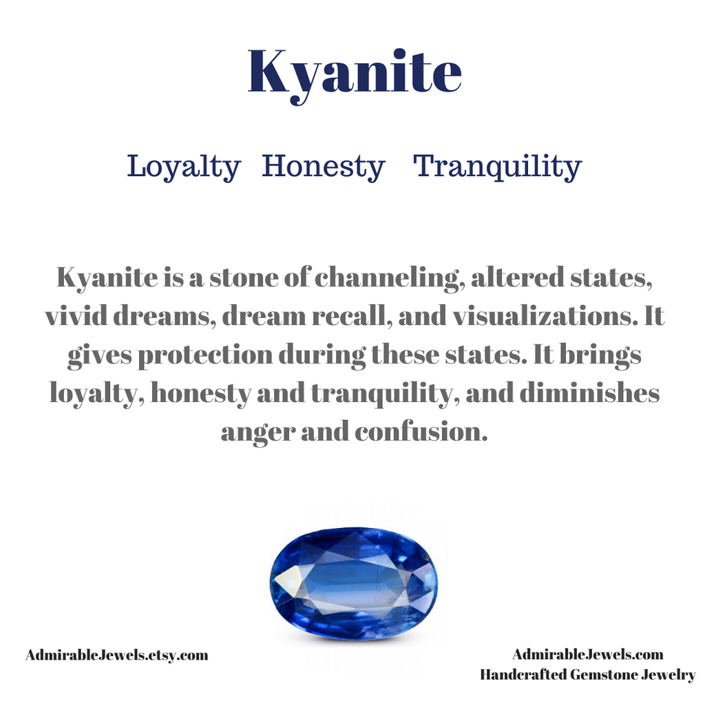 Kyanite Healing Properties