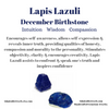 Lapis Lazuli Necklace, December Birthstone - Handmade Jewelry - 14k Gold Filled or Sterling Silver