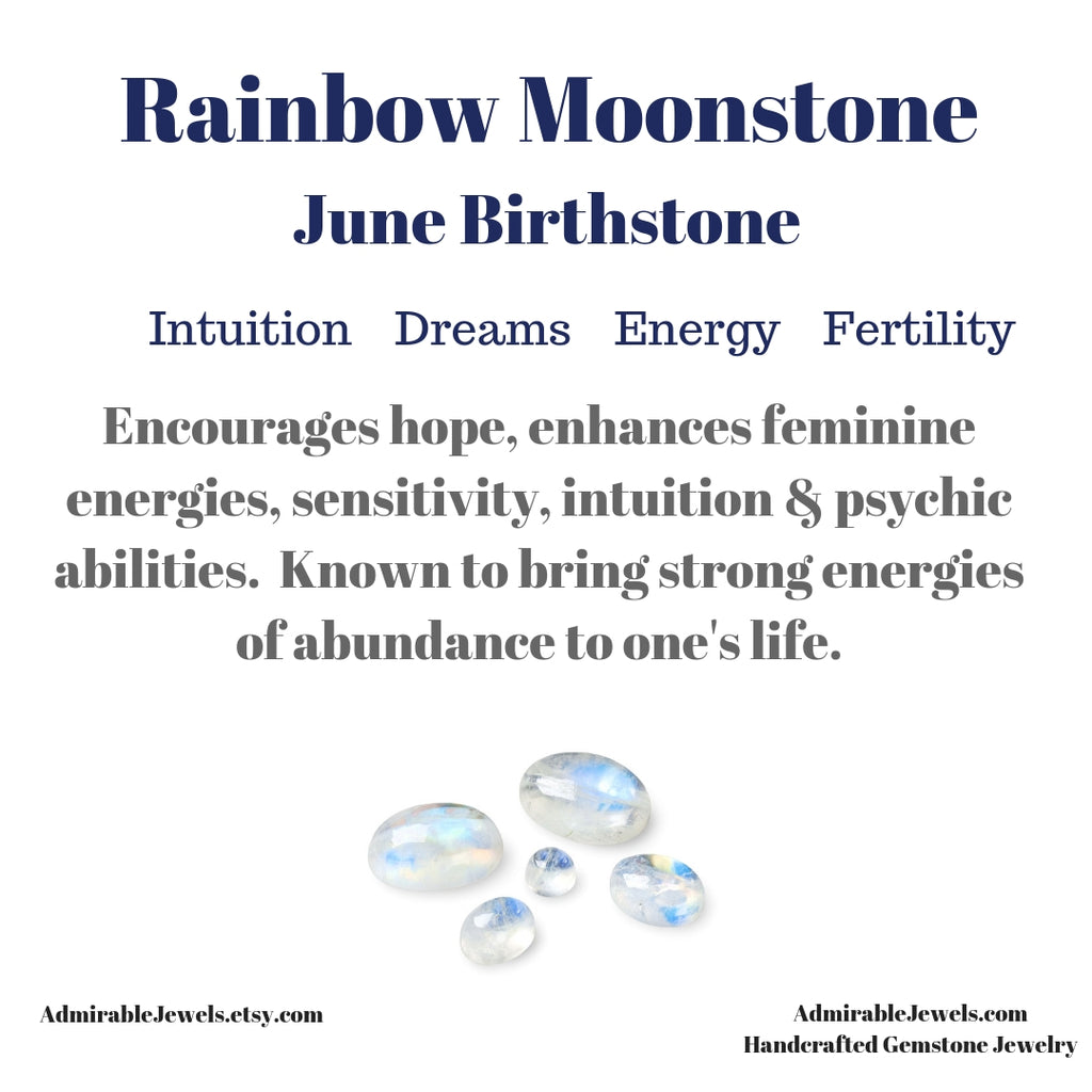 Rainbow Moonstone Healing Properties