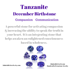 Load image into Gallery viewer, Genuine Tanzanite Bracelet, December Birthstone - Handmade Jewelry - 14k Gold Filled