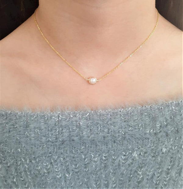 Akoya Pearl Pendant Necklace