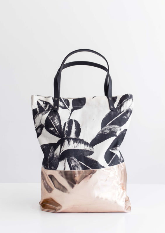 Baja Leaves Shopper