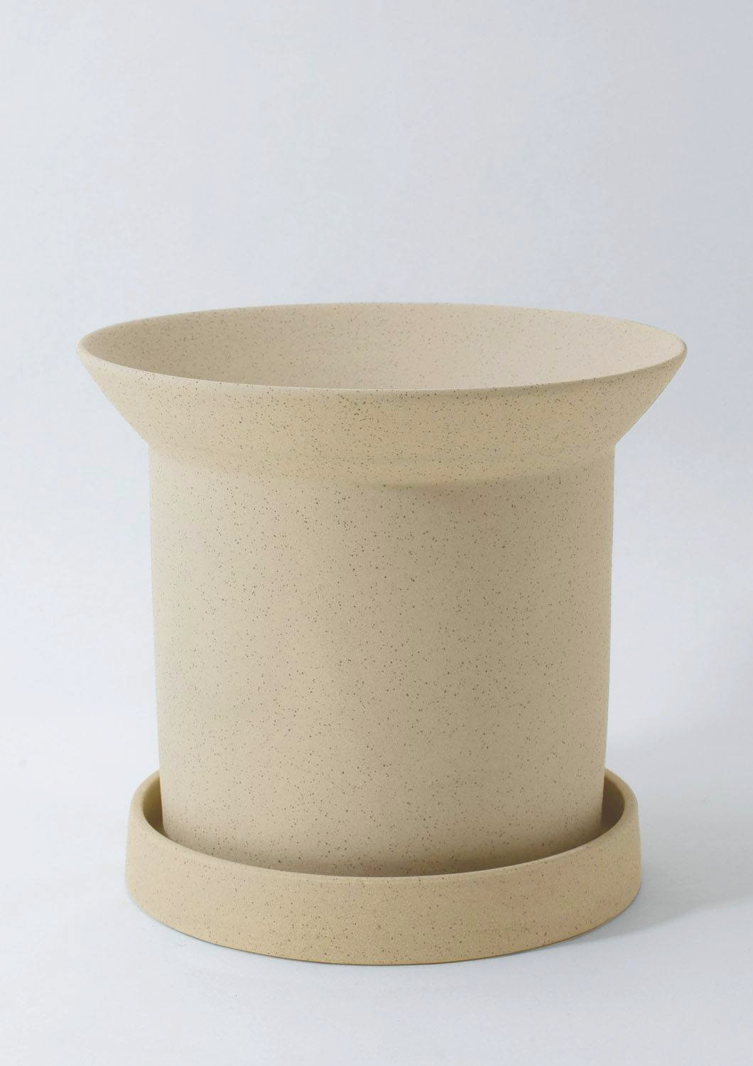 Sandstone Plant Pot - Large Buff