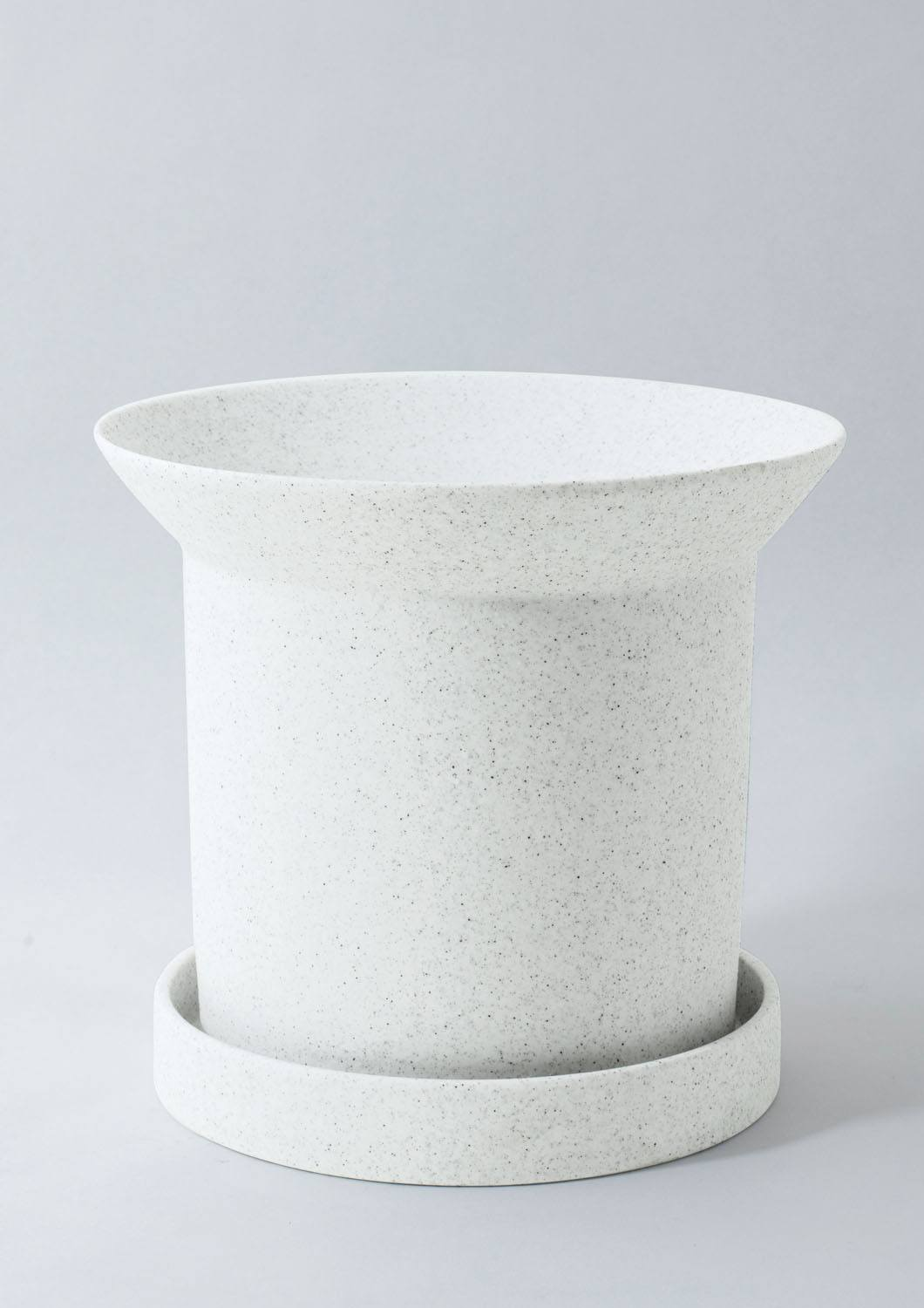 Sandstone Plant Pot - Large White