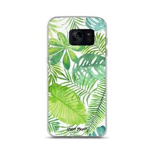 Watercolor Leaves Samsung Case