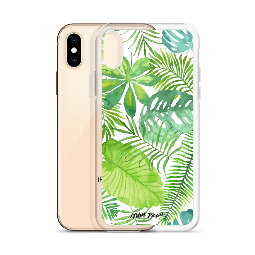 Watercolor Leaves iPhone Case