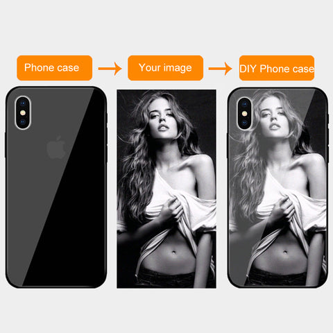 Quality Scape Cell Phone Accessories - Customized Tempered Glass Cases For iPhone