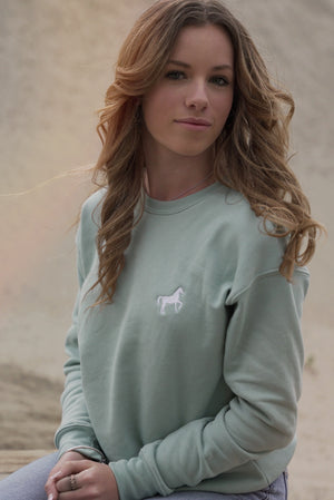 Icon 2021 Crew Neck - Agave Green