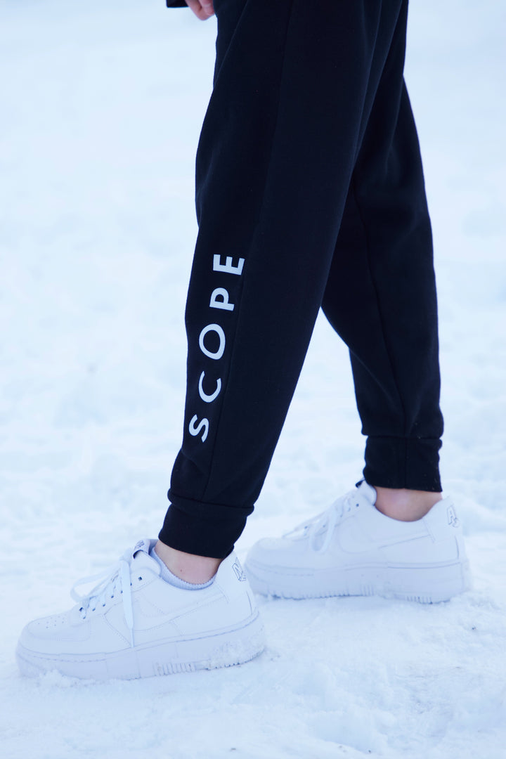 Scope Lightweight Sweatpants - Black