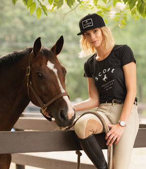 Black Wall Hat - Scope Equestrian Lifestyle