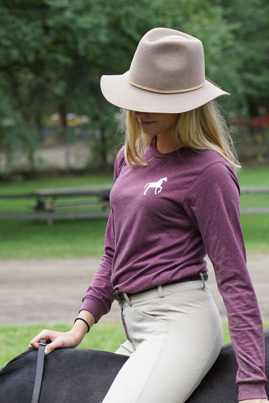 Go Higher Long Sleeve Tee - Scope Equestrian Lifestyle