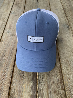 Steel Blue Trucker Hat - Scope Equestrian Lifestyle