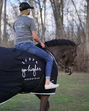 Go Higher Show Sheet - Scope Equestrian Lifestyle