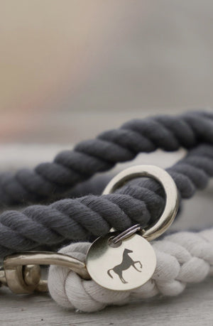 Ombre Cotton Dog Rope Leash