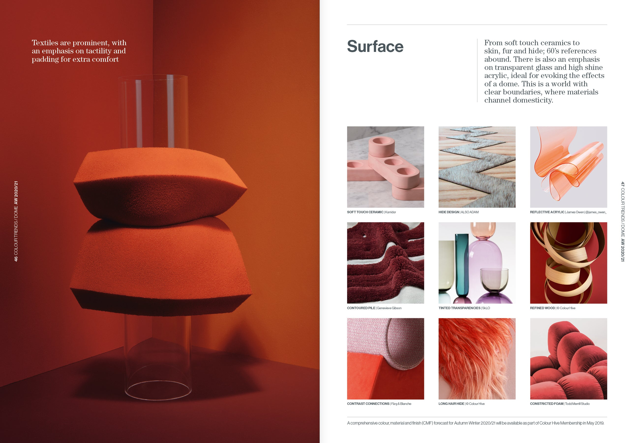 Product Trends 2020.Issue 55 Aw 2020 21 Part Two Colour Hive