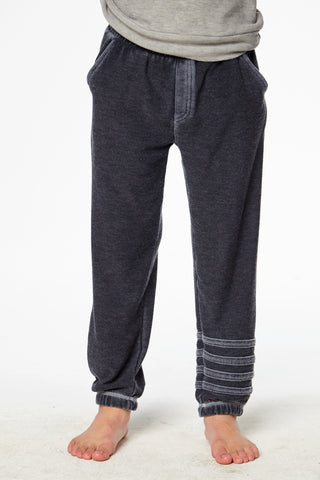 COZY KNIT JOGGER W/ STRAPPINGS