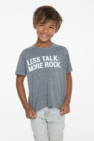 LESS TALK MORE ROCK TEE