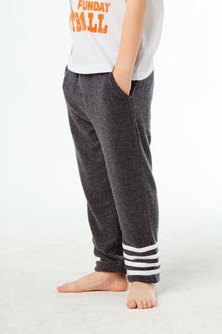 LOVE KNIT JOGGERS W/ STRAPPINGS