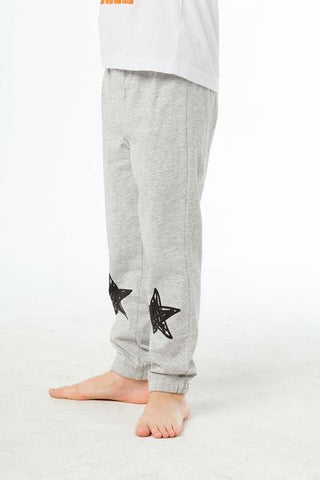 COTTON LOUNGE PANTS STRETCHY STARS