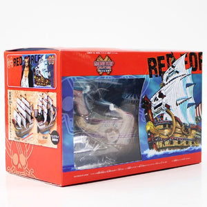 One Piece Shanks Red Force Law Submarine Thousand Sunny PVC  15-18cm - The Night