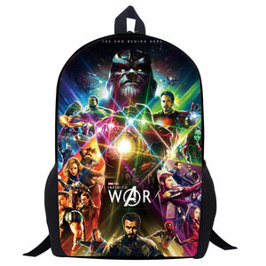 17 Inch Avengers Infinity War Backpack - The Night