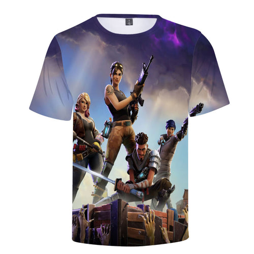 +10 FØRTNITE 3D T-shirts - The Night