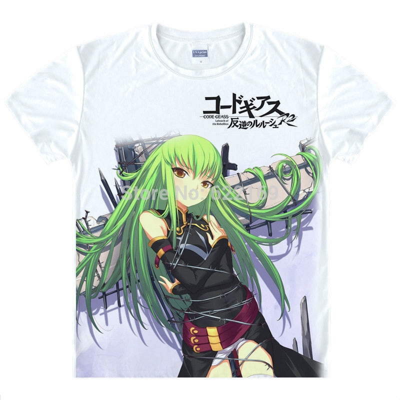 Code Geass Lelouch of the Rebellion T Shirts - The Night