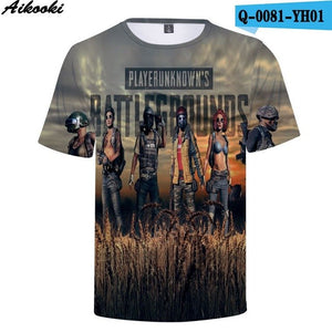 Pubg 3D t-shirts - The Night