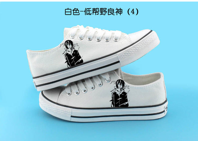 Anime Noragami Fashion Shoes - The Night