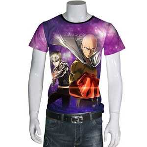 T-shirts One Punch Man 3D - The Night