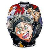 Black Clover 3D Fashion Jacket - The Night