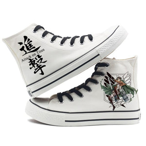 Attack On Titan Fashion Shoes - The Night