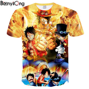 Fire One Piece 3d T-shirt - The Night