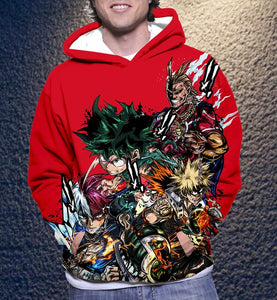 My hero academia 3D hoodies - The Night