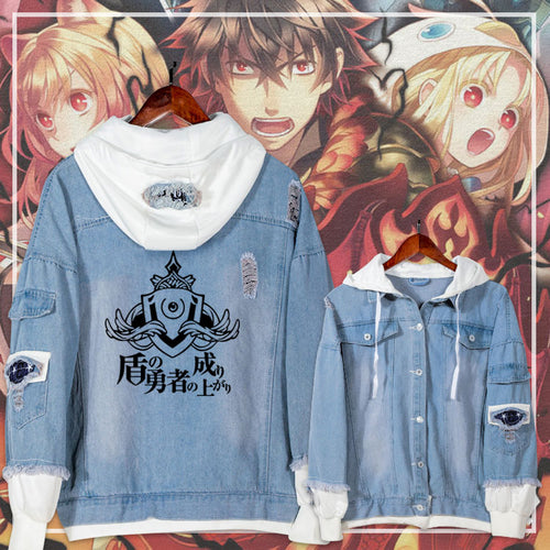 Casual Jacket Jeans Coat The Rising of the Shield Hero - The Night