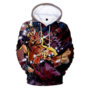 JOJO 3D Hoodies - The Night