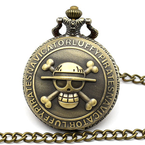 One Piece Pocket Watch Nacklace - The Night