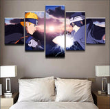 5 Pieces One Set Naruto Uzumaki Canvas HD - The Night