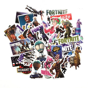 50 FØRTNITE graffiti stickers recommend a waterproof - The Night