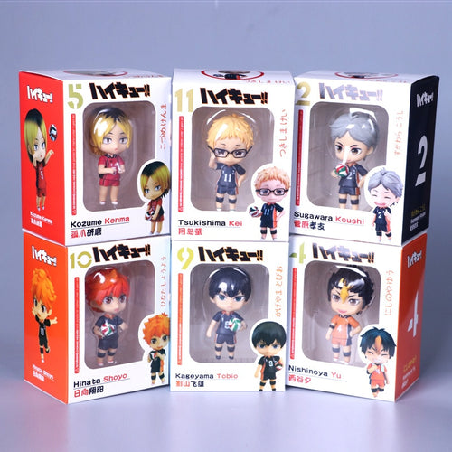 Haikyuu Volleyball Hinata Syouyou kageyama tobio Figure Nendoroid - The Night