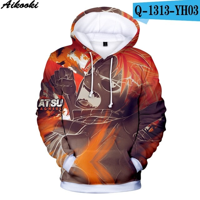 Fairy Tail 3D Hoodies - The Night